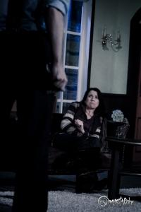 Virginia Bellamy in einer äußerst bedrohlichen Lage. Foto: Anders Balari