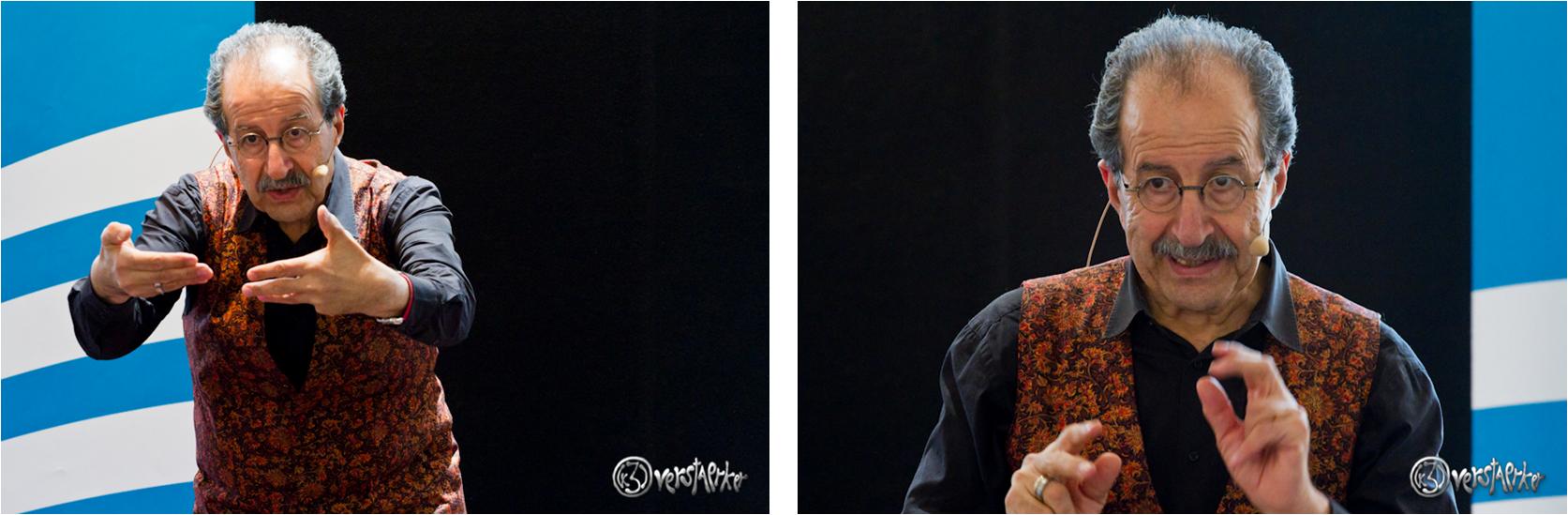 Ein großer Erzähler unserer Zeit: Rafik Schami. Fotos: Anders Balari