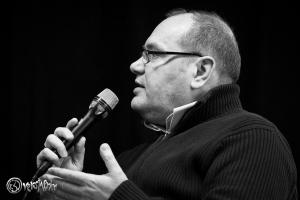 Thomas Michel, Vertreter der Piraten-Partei. Foto: Anders Balari