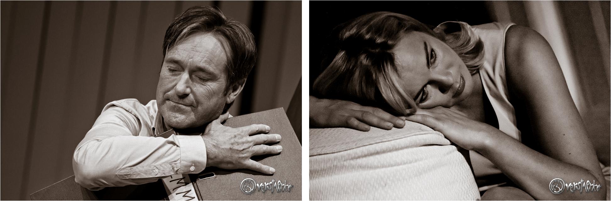 Verliebt: Leo und Emmi (Helmut Zierl und Saskia Valencia). Photos: Anders Balari